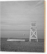 Sasco Life Guard Chair Wood Print