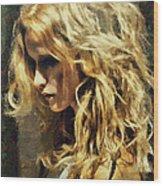 Sasha  Wood Print