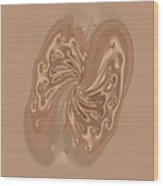 Satin Butterfly Wood Print