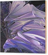 Satin Wing By Jammer Wood Print