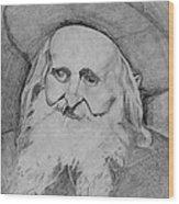 Satmar Rebbe Wood Print
