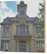 Saugus Town Hall Wood Print