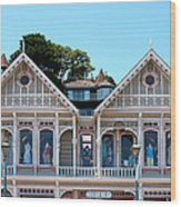 Sausalito Boutique Wood Print