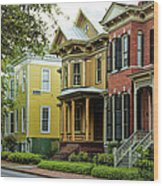 Savannah Architecture Wood Print