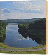 Saville Dam Scenic Wood Print