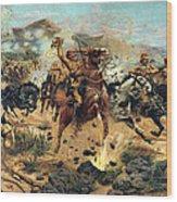 Saving The Guns At Colenso, 1899 Wood Print