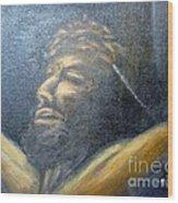 Savior Wood Print