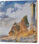 Savudrija Lighthouse Wood Print