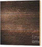 Saw Marks On Wood Wood Print