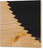 Saw Shadow Wood Print