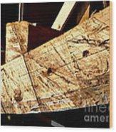 Saw Tracks On The Santa Maria Wood Print