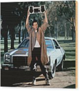 Say Anything Wood Print by Kid 80s