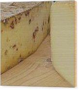 Say Cheese Wood Print