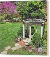 Sayen Garden Spring Wood Print