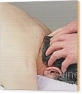 Scalp Massage Wood Print