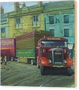 Scammell Showtrac Wood Print