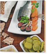 Scandinavian Breakfast, Scandinavia Wood Print