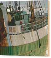 Scarborough Sailing Wood Print
