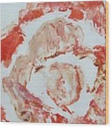 Scarlet Beauty Wood Print