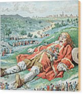 Scene From Gullivers Travels Wood Print