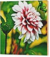 Scenic Bouquet Wood Print