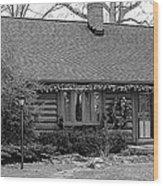 Scenic Cabin Wood Print