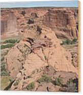 Scenic Canyon De Chelly  Wood Print