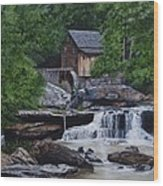 Scenic Grist Mill Wood Print