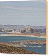 Scenic Lake Powell Wood Print