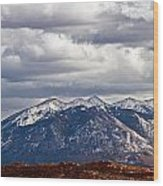 Scenic Moutains Wood Print