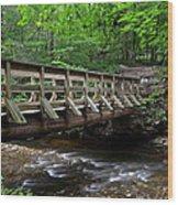 Scenic Passageway Wood Print