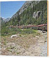 Scenic Railroad Wood Print