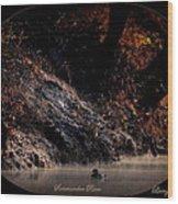 Scenic Sucarnoochee River - Wood Duck Wood Print