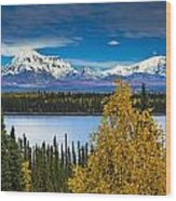 Scenic View Of Mt. Sanford L And Mt Wood Print by Sunny Awazuhara- Reed