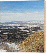 Scenic Vista Wood Print