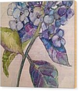 Scented Beauty Wood Print