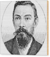 Schalk Willem Burger (1852-1918) Wood Print