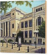 Schermerhorn Symphony Center Wood Print