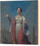Schiavoni Natale, St Catherine, 1828 Wood Print by Everett