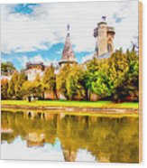 Schloss Laxemburg Wood Print