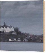 Schloss Ploen Wood Print