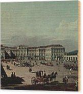 Schloss Schonbrunn, 1759-60 Oil On Canvas Wood Print