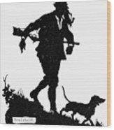 Schmidt The Hunter Wood Print