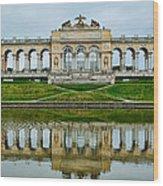 Schonbrunn Glorietta Wood Print by Viacheslav Savitskiy