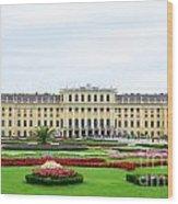 Schonbrunn Palace In Vienna Austria Wood Print