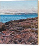Schoodic Point 8414 Wood Print