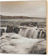 Schoodic Point Acadia National Park Wood Print