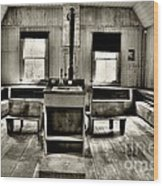 School Room Wood Print