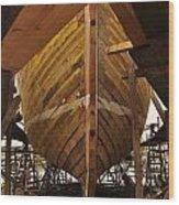 Schooner Ardelle Planked Wood Print
