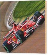 Schumacher Bend Wood Print